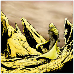 Chani the Fremen coloured by judsonwilkerson