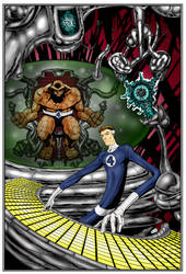 Dr. Richards coloured by judsonwilkerson