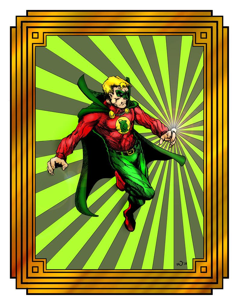 Alan Scott, Green Lantern by judsonwilkerson