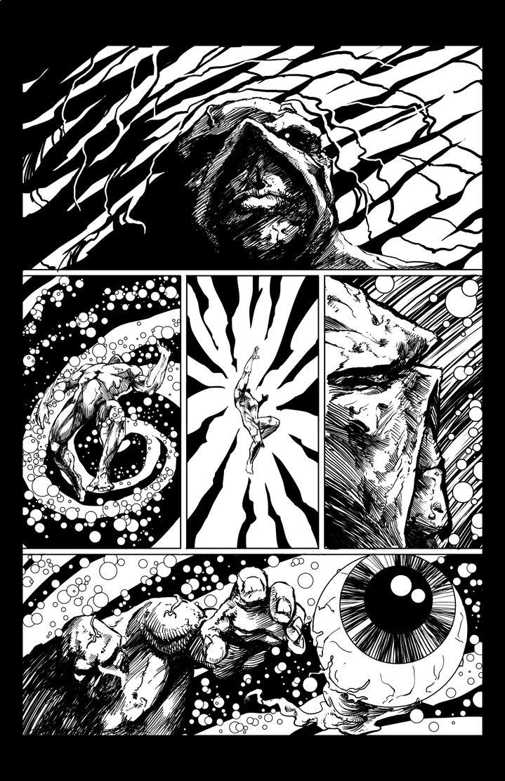 SwampThing pg1 by judsonwilkerson