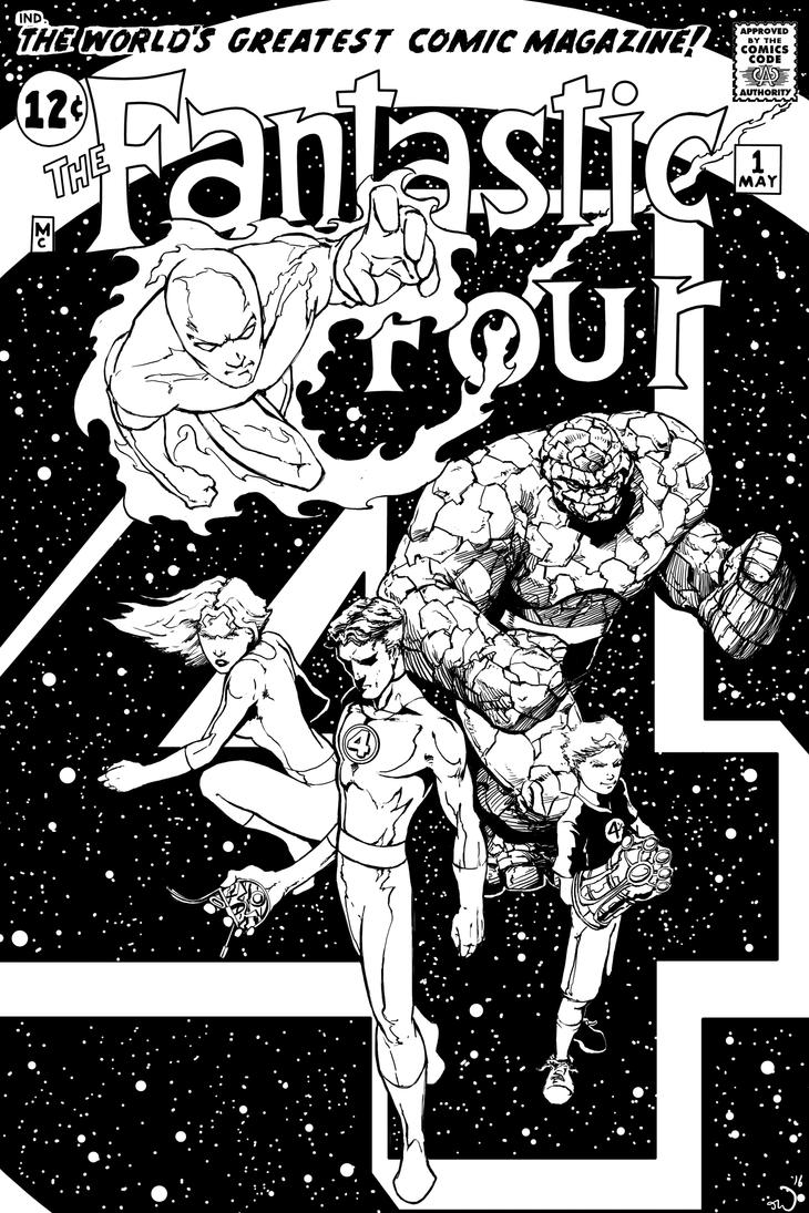 Fantastic Four Mock cover by judsonwilkerson