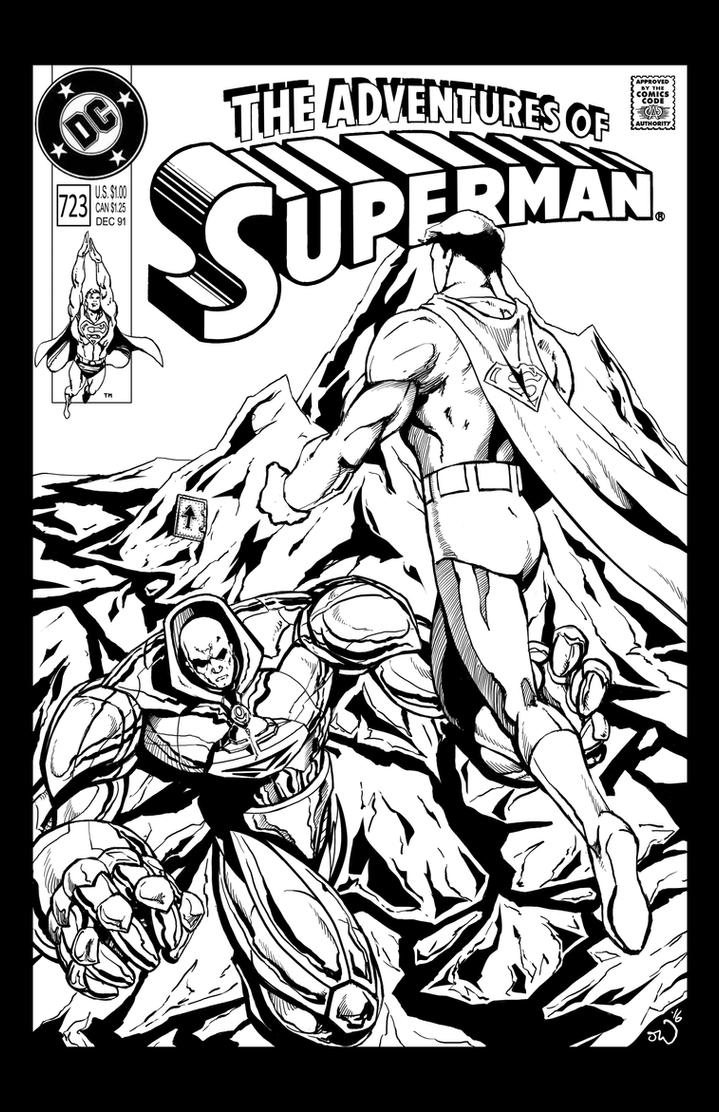 Adventures of Superman mock cover by judsonwilkerson