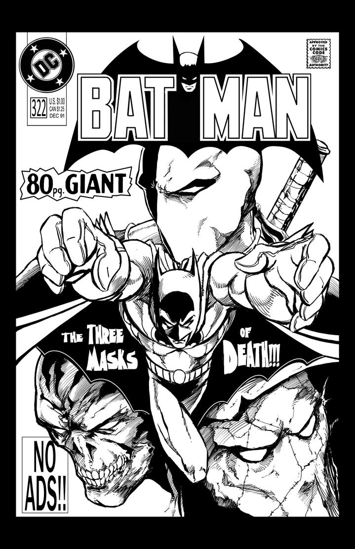 Batman 80pg Giant mock cover by judsonwilkerson