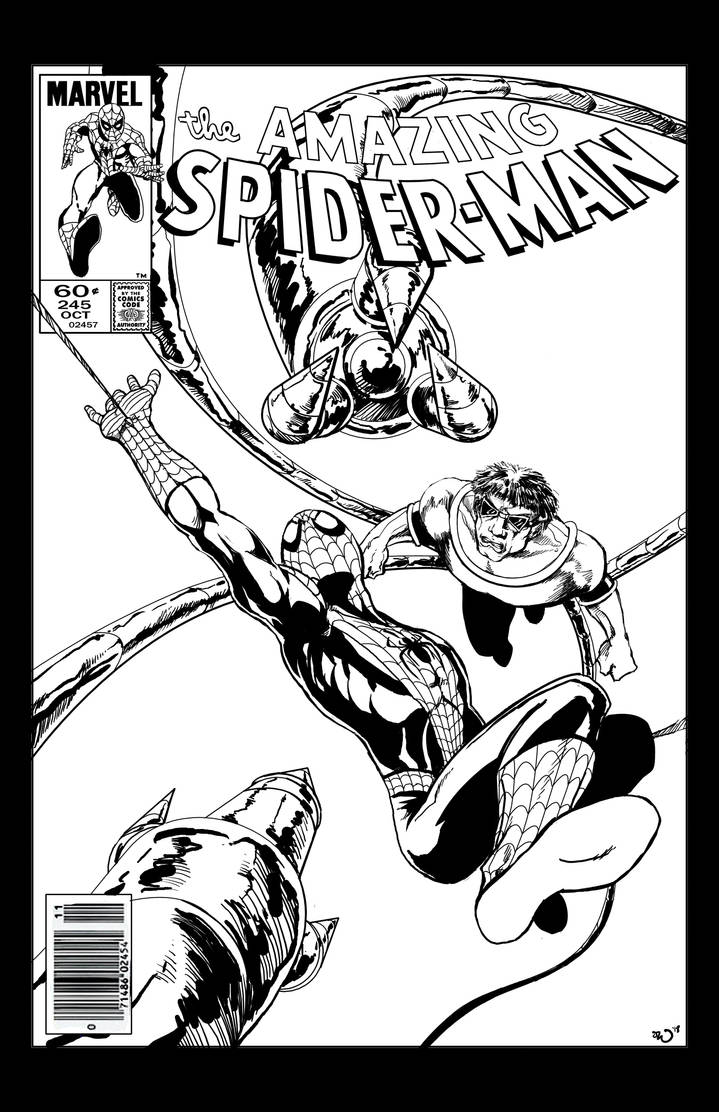 Amazing Spider-Man mock cover by judsonwilkerson