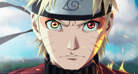 Naruto by Neuntoterx