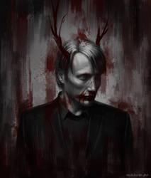 Hannibal Lecter by Neuntoterx