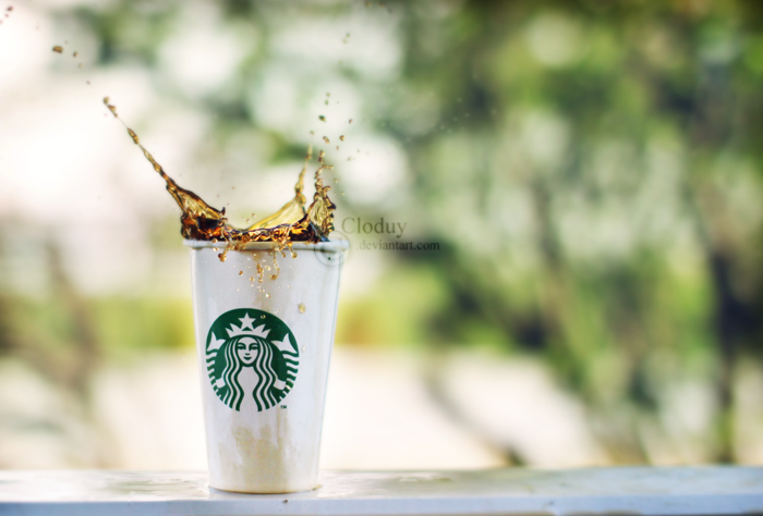Starbucks Coffee by cloduy