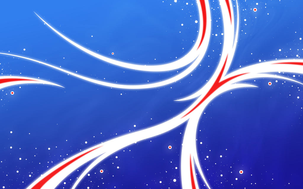 Cosmic Feathers - July 4th by aquaraven