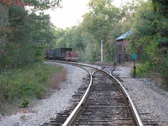 New Hampshire Train Tracks by nhphotographer