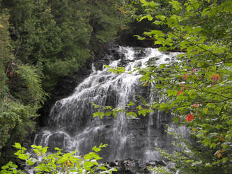 New Hampshire Waterfall by nhphotographer