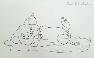 Inktober Day 23 Muddy by Hawkeye553
