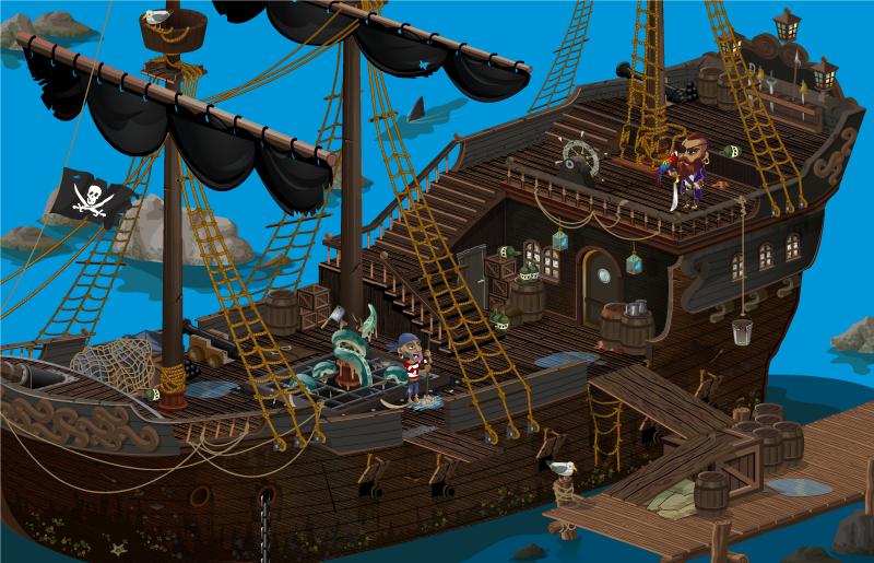 korsan gemisi-the pirate ship