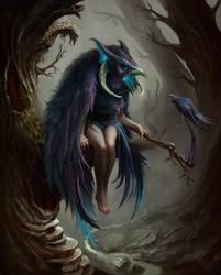 The Raven by Vixgo