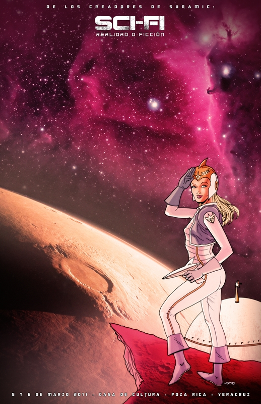 sci-fi poster by fito-mtz