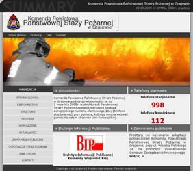 KP PSP w Grajewie by onlyx