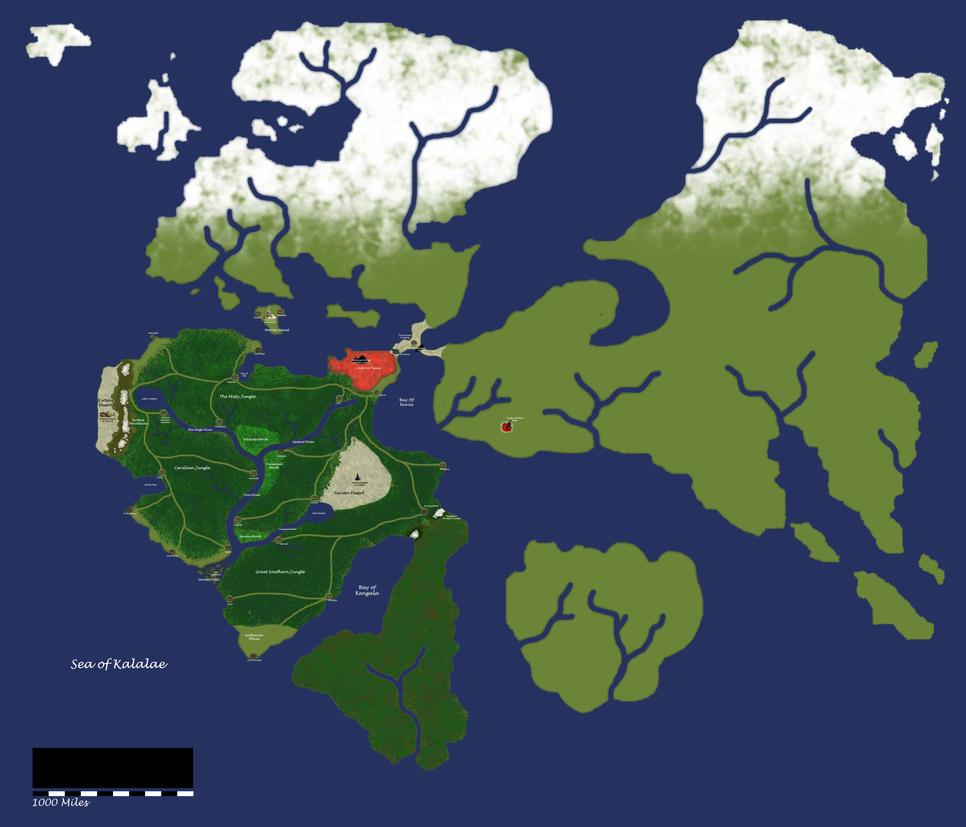 Mainmap Update by KingdomStudio