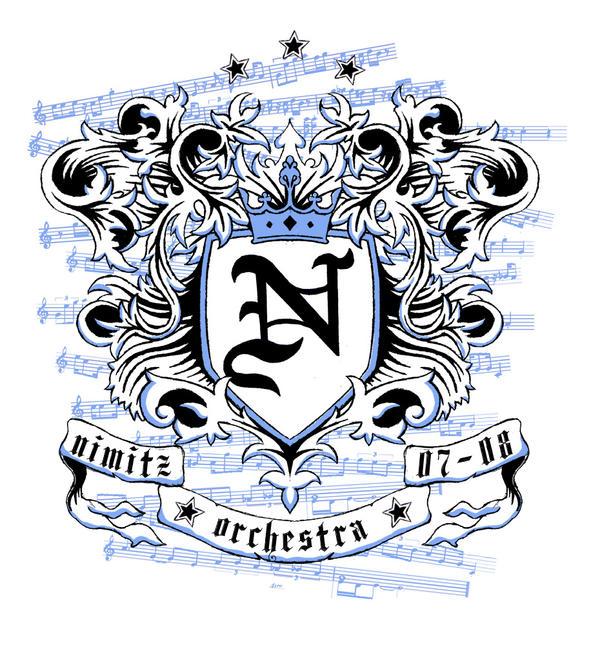 orchestra shirt design crest by hashbrowns77 on deviantart