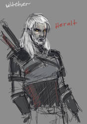 witcher by ACEll1999