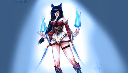 Ahri by ACEll1999