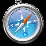 Blue Safari Icon