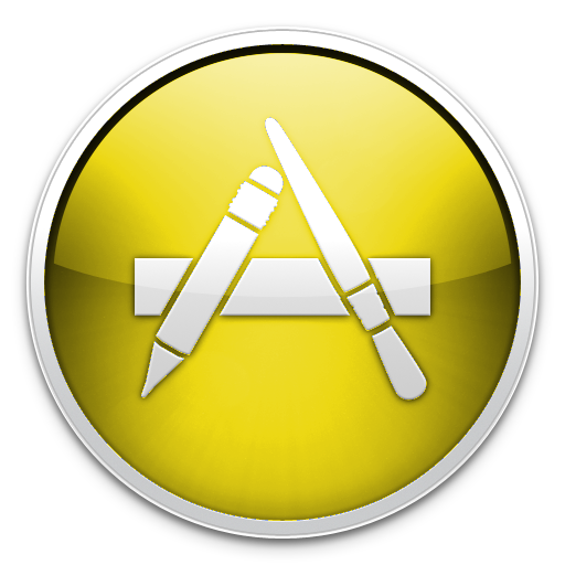 Yellow App Store Icon by TheArcSage