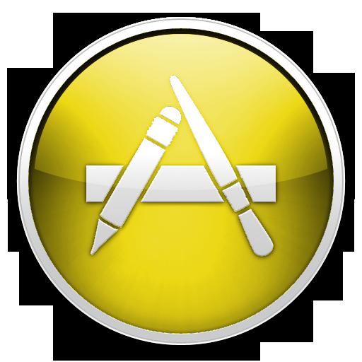 Yellow App Store Icon