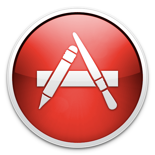 Red App Store Icon By Thearcsage On Deviantart