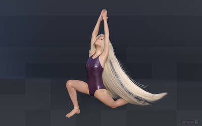 diNorian Test - Phoebe Yoga (dA) by diNorian
