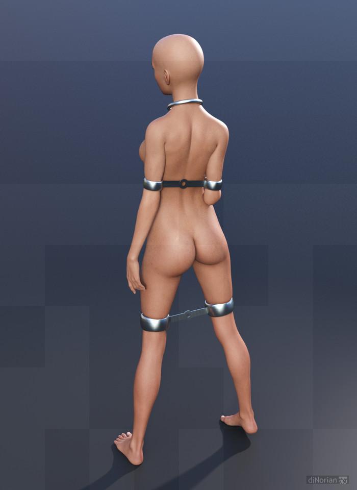 diNorian Test - Joint Cuff Bars Tight (dA) by diNorian