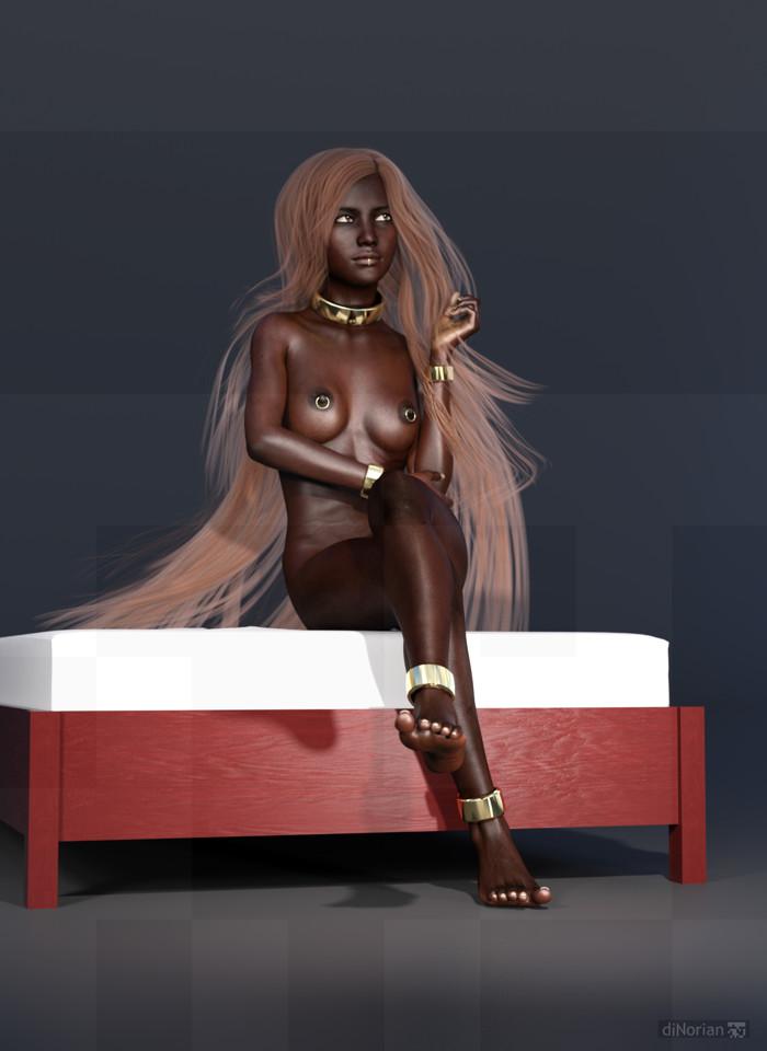 diNorian - Mamba Mistress Golden (dA) by diNorian