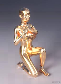 diNorian Test - Chosen Gold (dA)