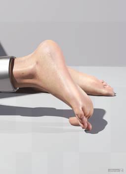 diNorian Test - Gretchen Feet (dA)