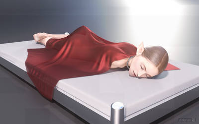 diNorian Test - Leova Sleeping Silk 2 (dA)