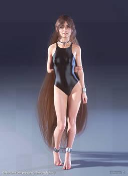 diNorian - Mikaela Swimsuit (dA)