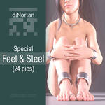 diNorian Special - Feet and Steel (24 pics)