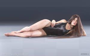 diNorian Test - Fantay Swimsuit Front (dA) by diNorian