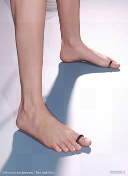 diNorian - Attitude Feet (dA)