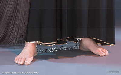 diNorian - Fantay Serving Feet (dA)