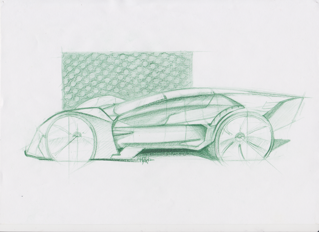 Fantasy car side view sketch by OoMDCToO on DeviantArt