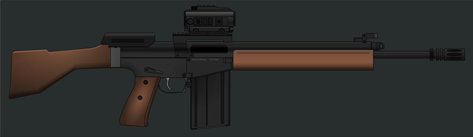 Returner Firearms Battle Rifle by KoeiX2