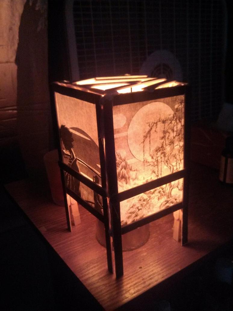 Japanese Shoji Lamp by KoeiX2