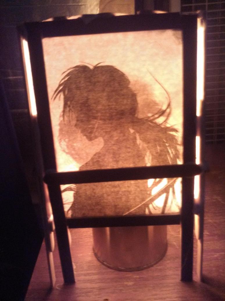 Rurouni Kenshin Shoji Lamp by KoeiX2