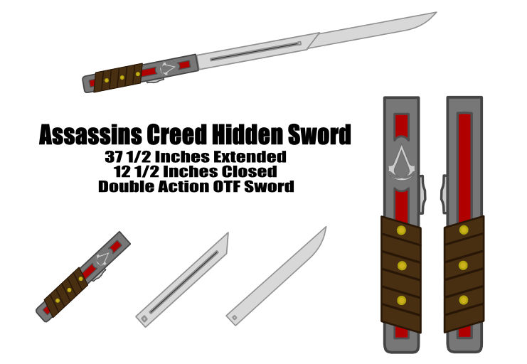 Assassins Creed Hidden Sword By Ljsquare1999 On Deviantart