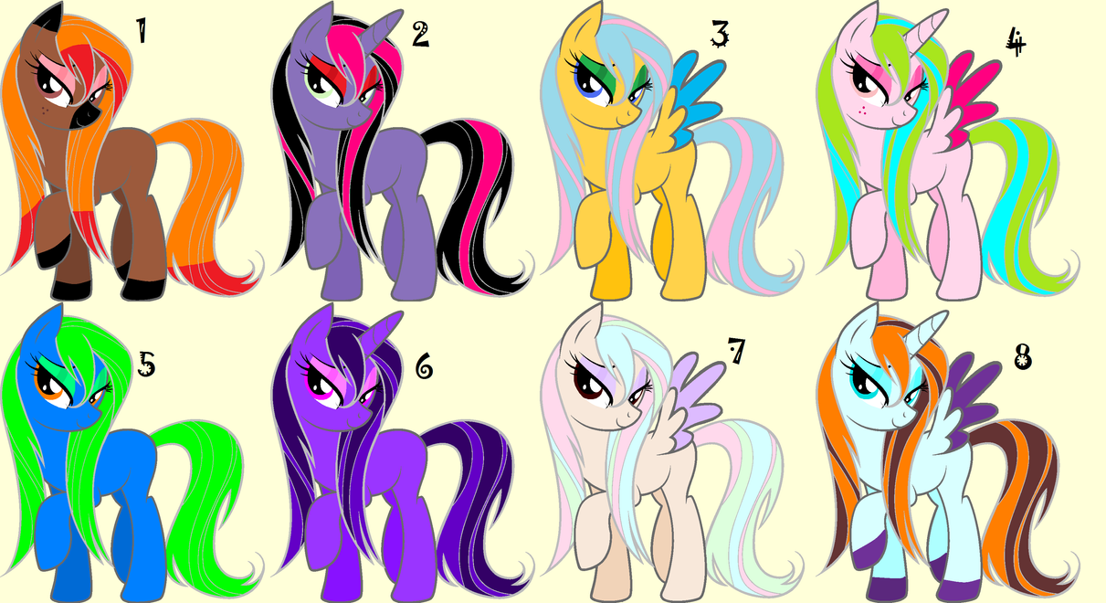 free pony adopts .closed. by Odscene