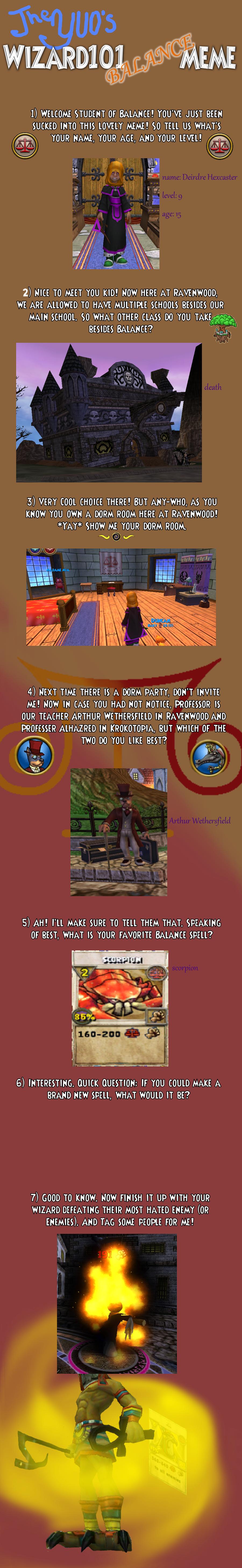 Wizard101 balance meme