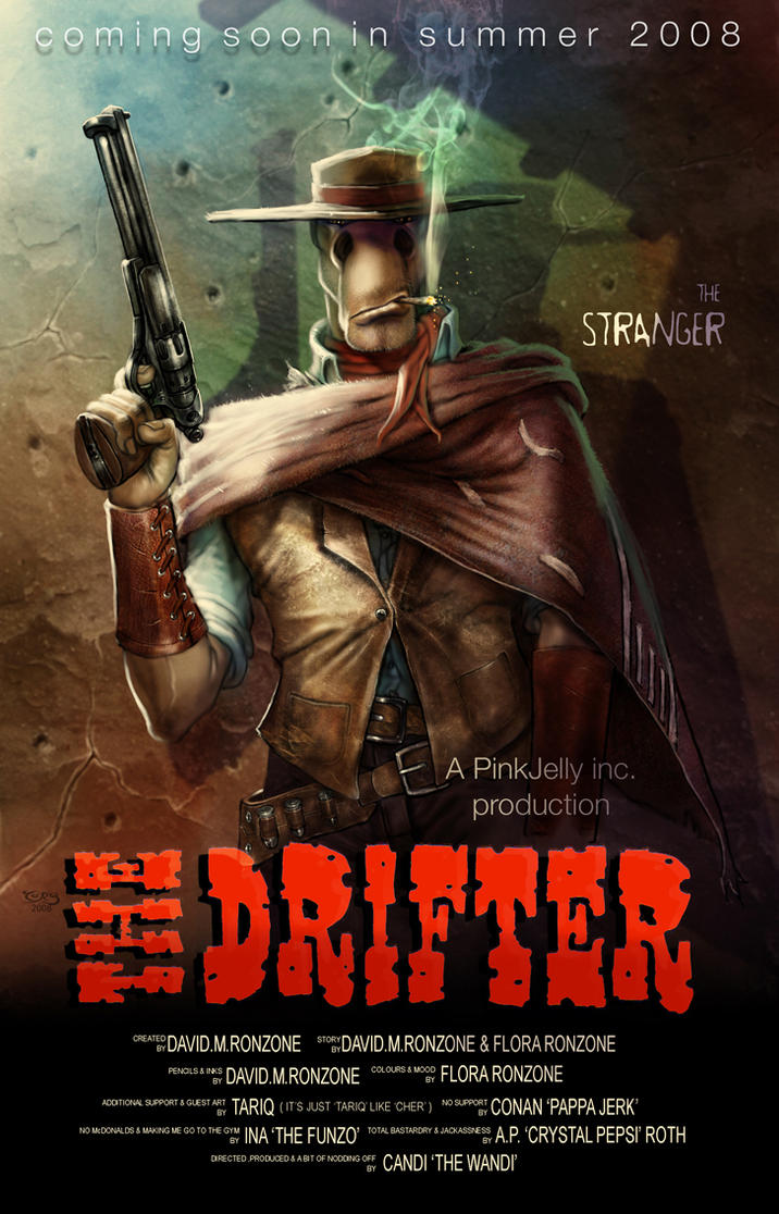 The Drifter_movie poster 1 by tariq12