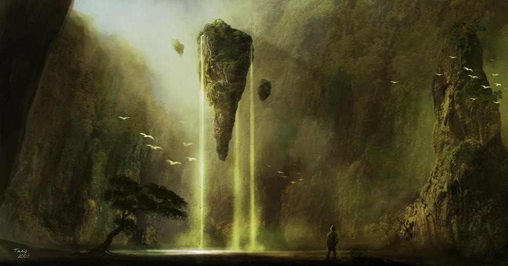 Fountain of Everlasting Life. by tariq12