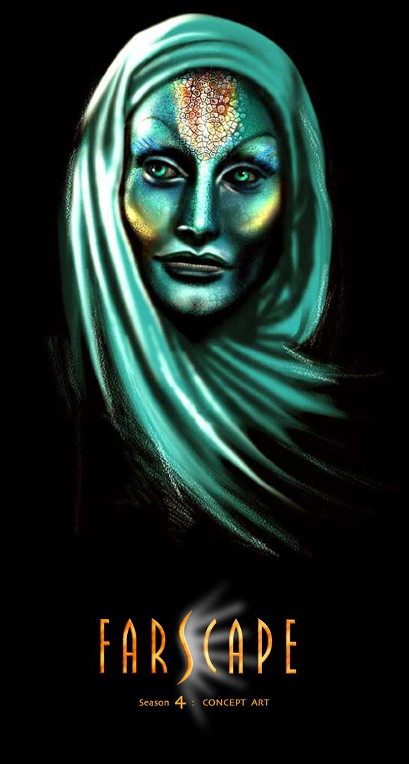 FARSCAPE CONCEPT ART_ZHAAN by tariq12