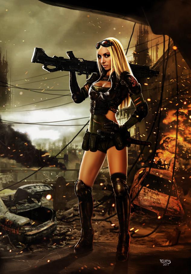 WAR ZONE - Lisa Lou by tariq12