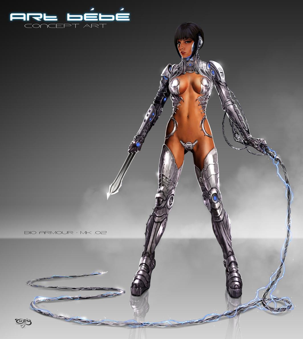 Art Bebe_Bio Armor MK002 by tariq12